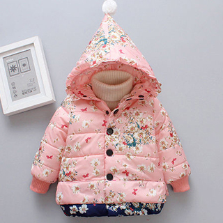 girls hooded jackets