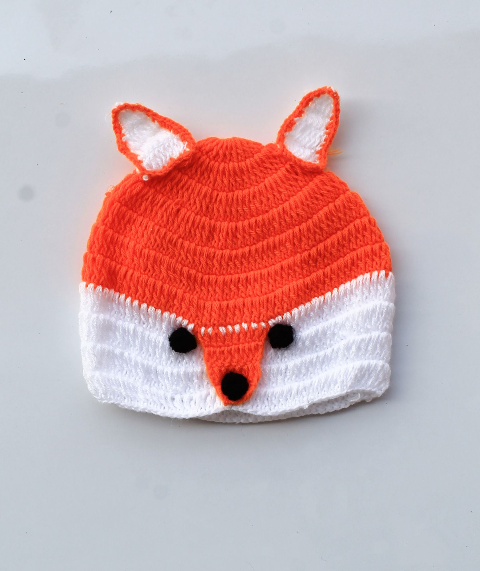Fox Pattern Cap