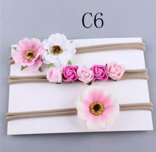 Combo of 3 Floral Headbands