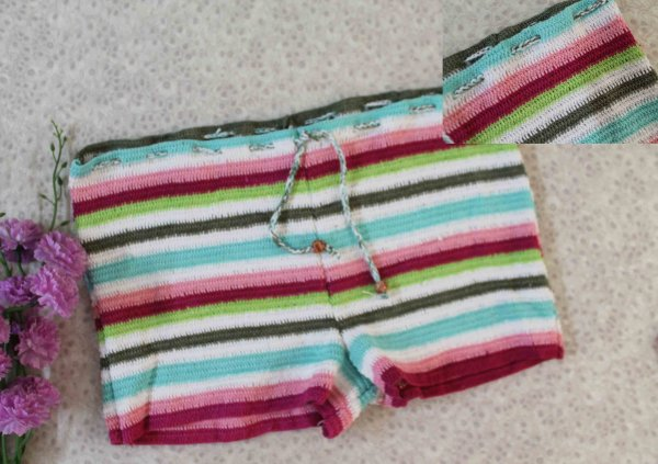 Attractive Multicolored Shorts for Girls