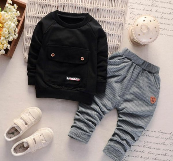 Black 2 Pc Set
