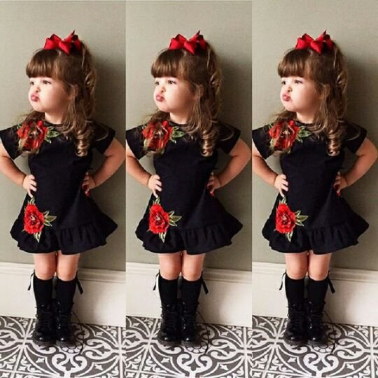 Black One pc Dress