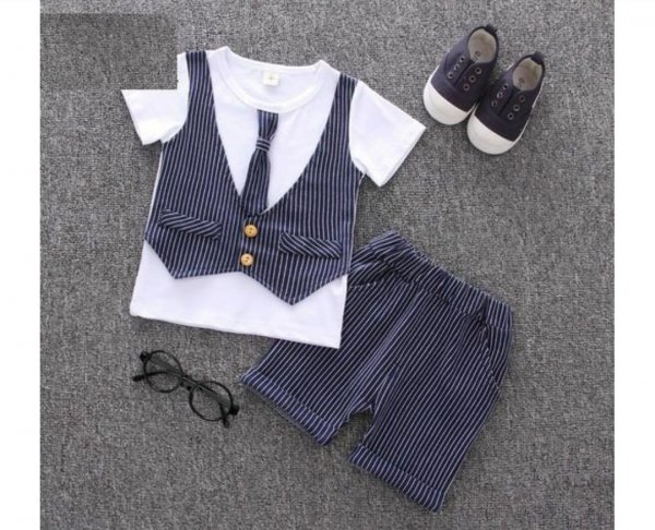 Boys Semi Formal Top with Shorts