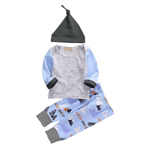 Boys 3 Pc set with Cap