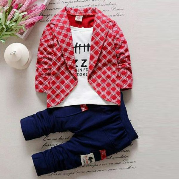 Red Coat 2 Pc Set