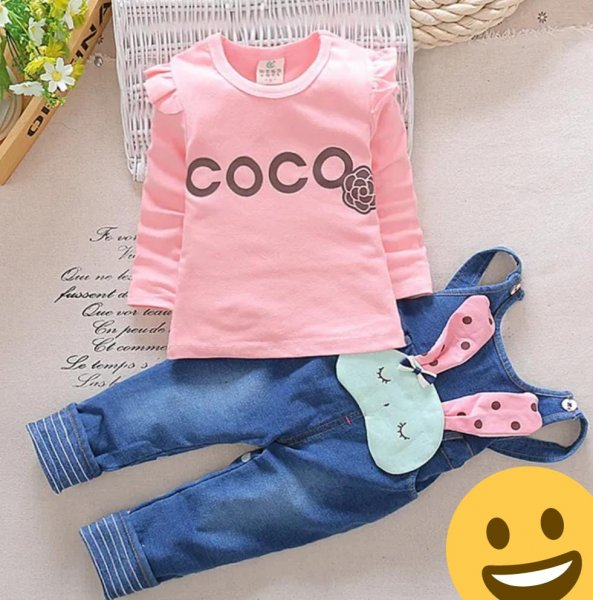 COCO Dungaree Set