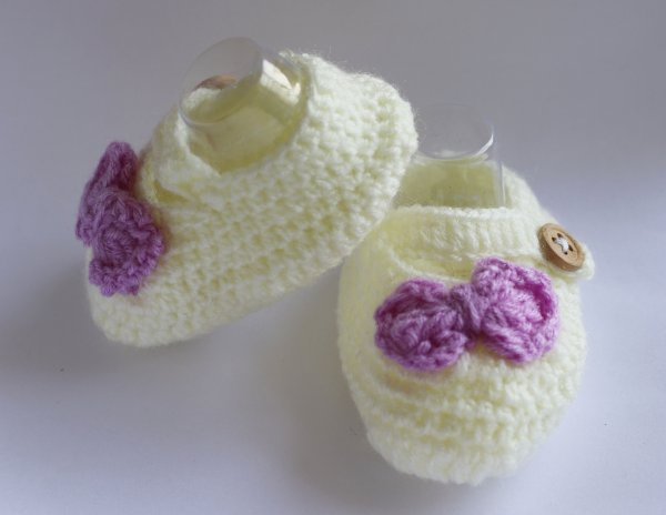 Cute Bow Booties
