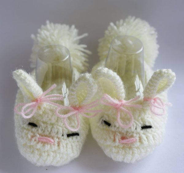 Cute Bunny Woolen Booties