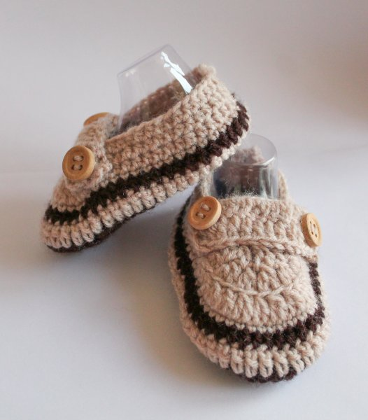 Woonie Brown Woolen Booties