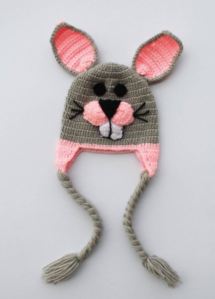 Handmade Bunny Cap for Infants