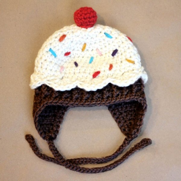 Pudding Pattern Cap for Kids