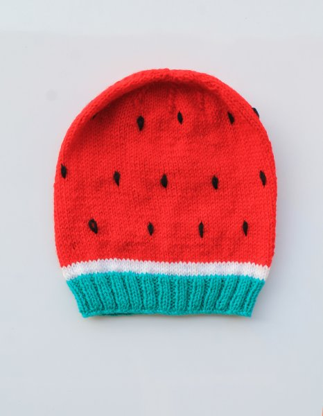 Woonie Handmade Knitted Watermelon Cap