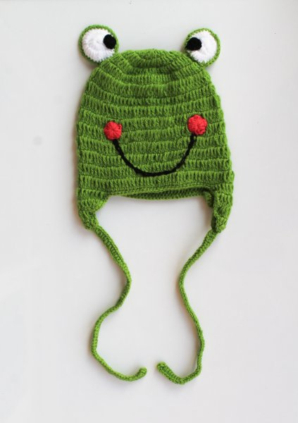 Frog Cap for Infants