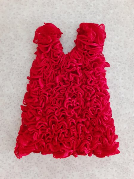 Red Cinderella Frock