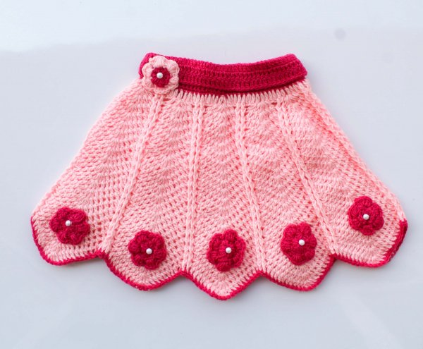 Woonie Handmade Pink Cape for Infants