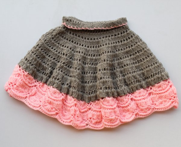 Grey and Pink Cape