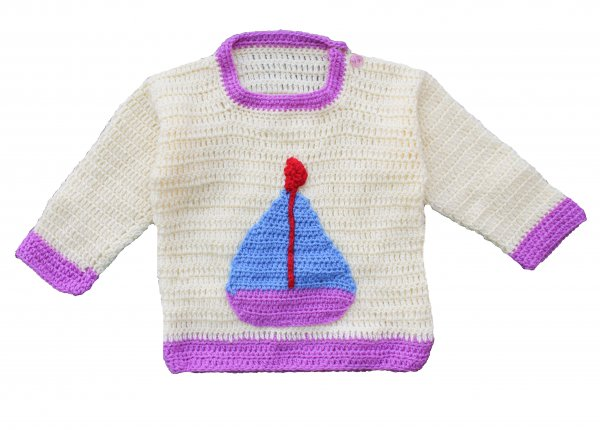 Woonie Handmade Boat Sweater for Kids