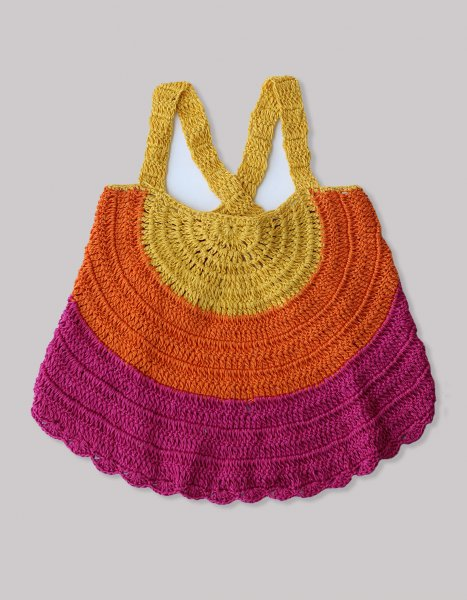 Cross Back Candy Top for Girls