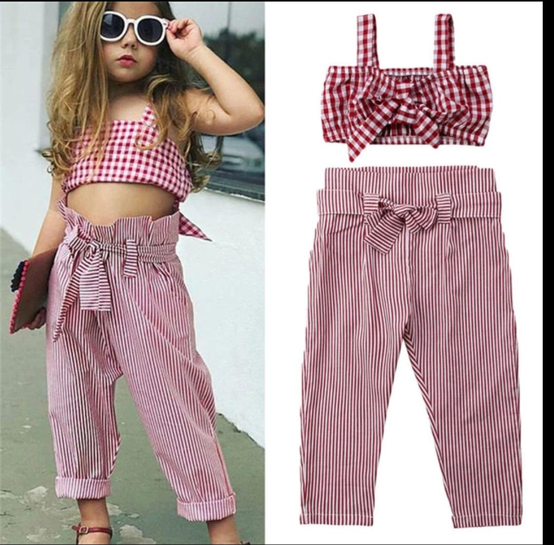 Cute  Red Set for summers