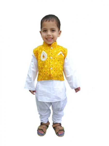 Boys Ethnic Jodhpuri Pant Set