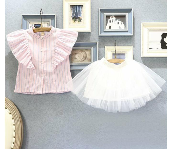 Frill Skirt with Top