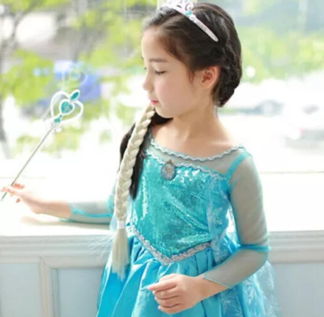 Frozen Princess Long Gown