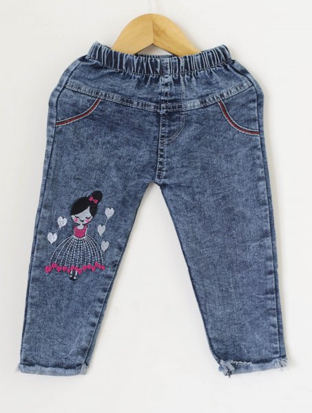 Denim Capri for Girls