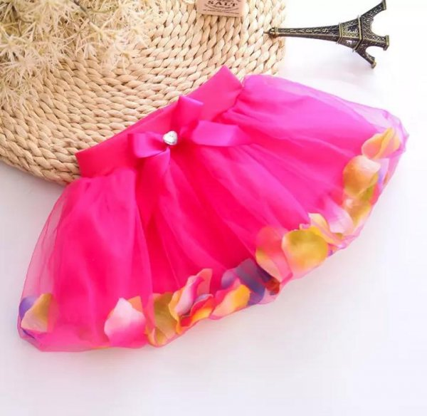 Petal Skirt for Girls