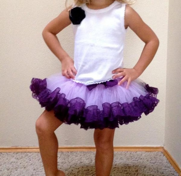 Purple Tutu Skirt