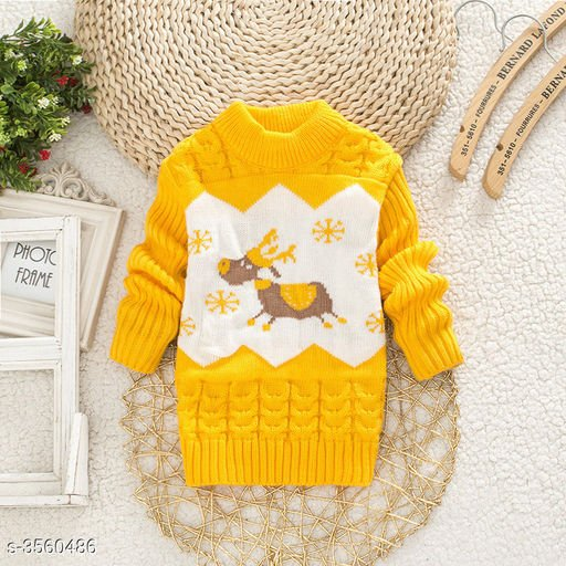 Yellow Sweater for Kids