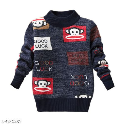 Multicolored Boys Sweater