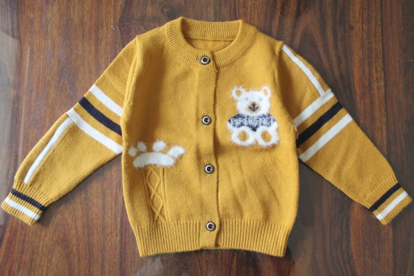 Yellow Soft Sweater for Kids