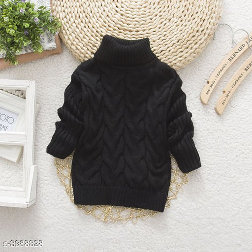 Black Sweater for Kids