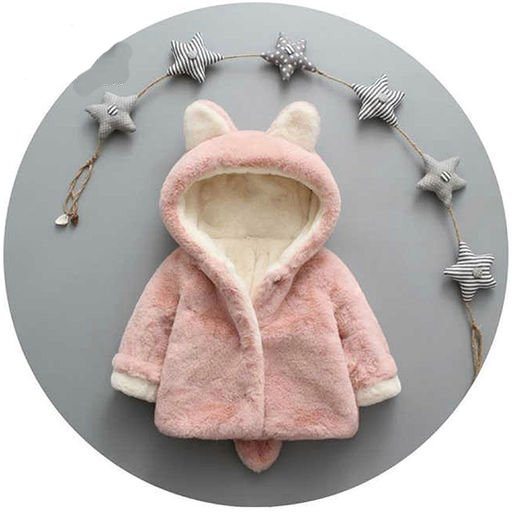 Pretty Fur Jacket for Kids