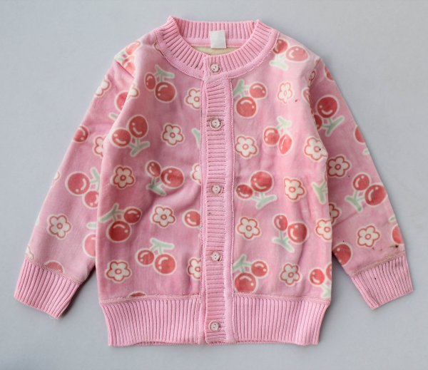 Pink Fleece Sweatshirt for Kids