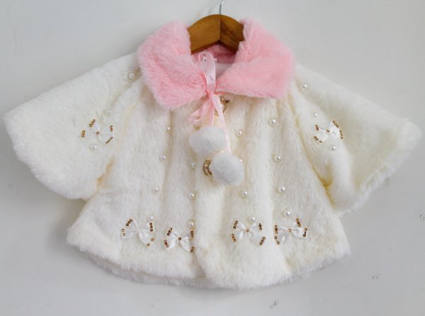 Pretty Fur Shrug for Kids