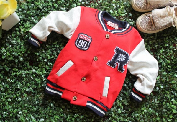 Front Openable Red Jacket for Kids