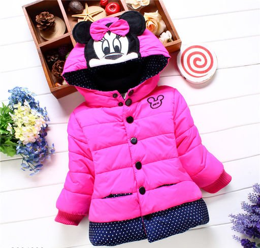 Fuscia Jacket for Kids
