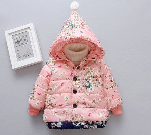 Peach Jacket for Kids