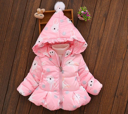 Pink Hood Jacket for Kids