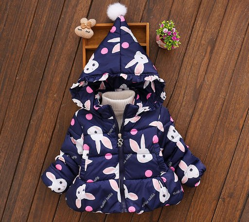 Blue Hood Jacket for Kids
