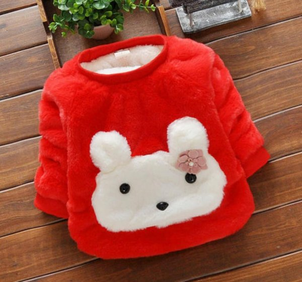 Sweet Red Fur Winterwear