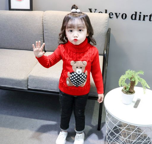 Cute Red Sweater for Kids