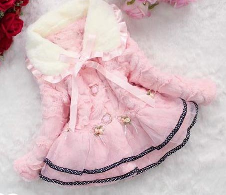 Pretty Pink Fur Shrug for Kids