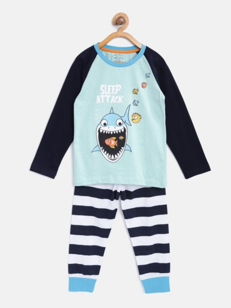 Kids Printed Nightsuits