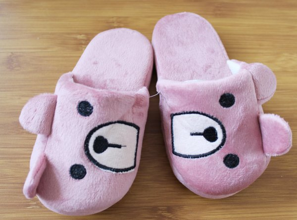 Kids Soft Fur Slippers