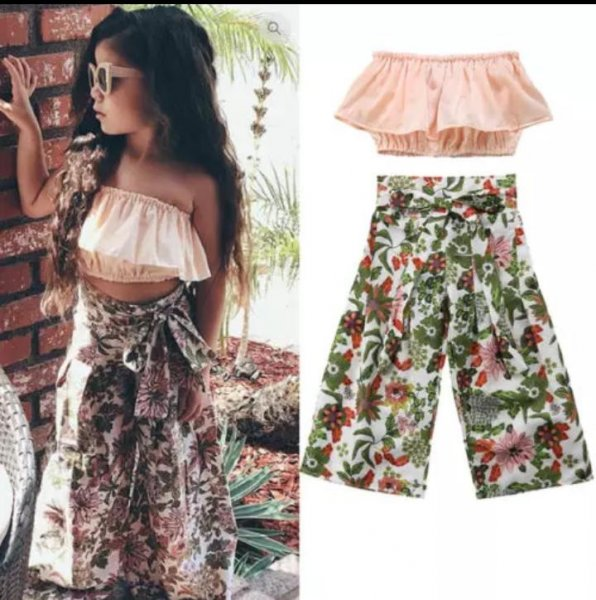 Pretty Satin Tube top with Palazzo