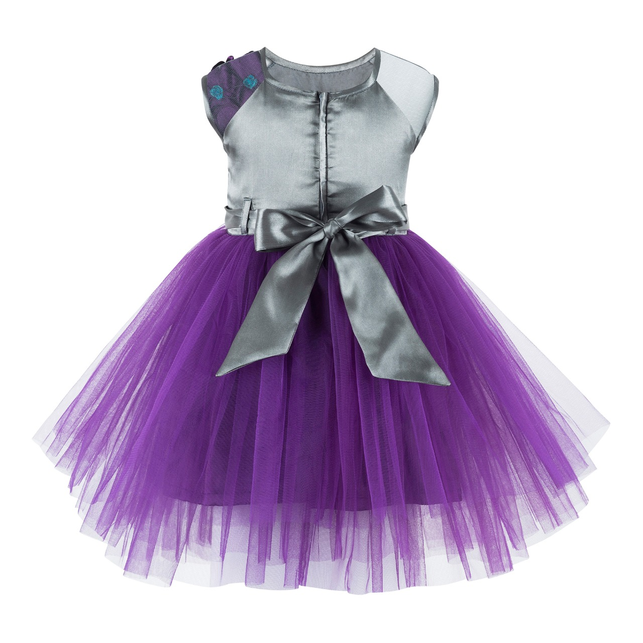 Purple Sequin Frock