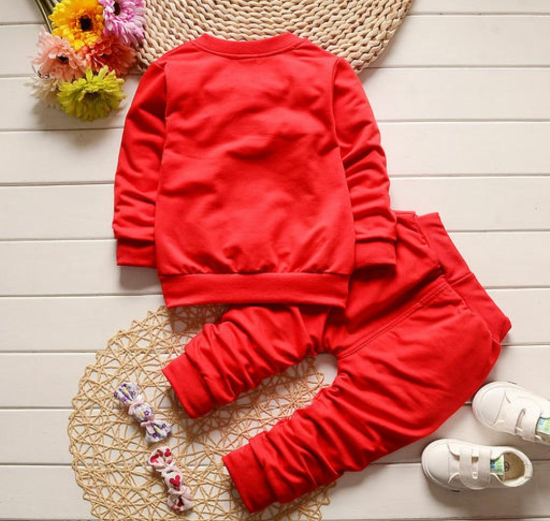 Red 3 Pc Set