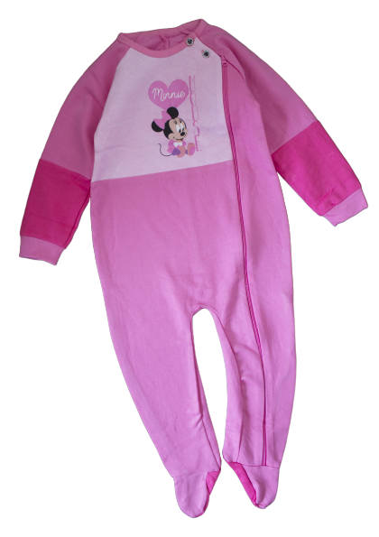 Pink Fleece Infant Jumpsuit